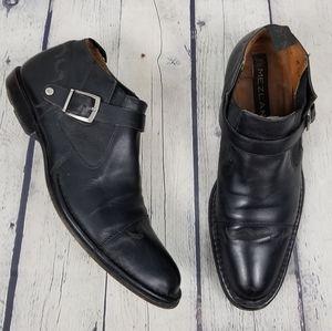 MEZLAN | Spike Chelsea slip-on tooled leather shoe